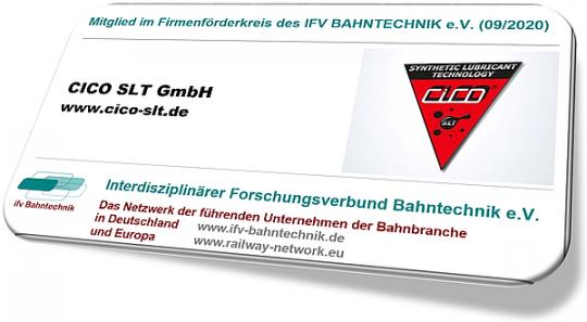 CICO SLT GmbH wird Mitglied im Firmenförderkreis des IFV BAHNTECHNIK e.V.